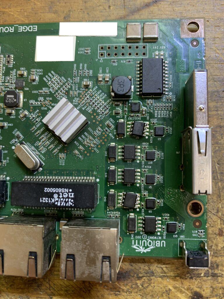 EdgeRouter repair